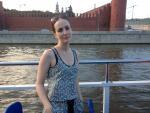 По реке мимо Кремля