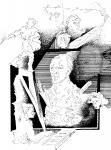 Иллюстрация Виктора Захарова к стихотворению ВАН ГОГ