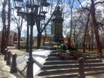 Памятник Гоголю в Нежине
