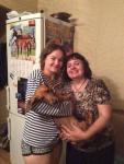 Настя (доча Бухты), Данька и я))